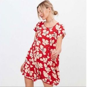 Urban Outfitters Silence +Noise floral Tunic Dress
